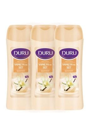 Duru Fruit & Milk Vanilya Ve Süt Duş Jeli 3x450ml 0