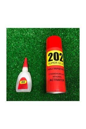 3M 202 Super Glue Hızlı Yapıştırıcı Spreyli 0