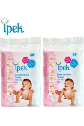 İpek Bebek Temizleme Pamuğu 120 Adet (2pk*60) 0