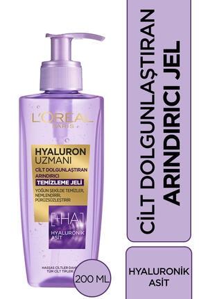 L'Oreal Paris Hyaluron Uzmanı Yüz Yıkama Jeli 200 ml 0