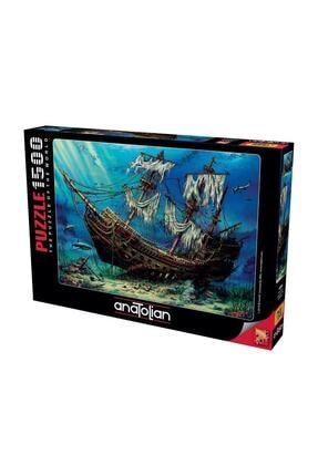 Anatolian Puzzle Batık Gemi, Shipwreck Sea, 1500 Parça Puzzle 1