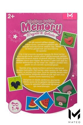 MATEO Eşleştirme Kartları Meyve Ve Sebze Okul Öncesi Oyunlar 2