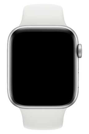 Fibaks Apple Watch 42mm A+ Yüksek Kalite Spor Klasik Silikon Kordon 3