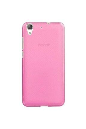 Huawei Teleplus Y6 Iı 2 Tam Korumalı Silikon Kılıf Pembe 0
