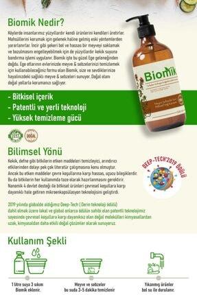 Nanomik Biomik Meyve Sebze Yıkama Temizleme Ürünü-500 Ml 1