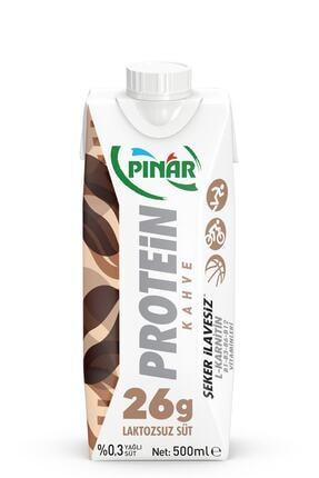 Pınar Protein Süt Kahveli 500 Ml 1 Adet 0