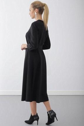 Journey Elbise-dik Yaka, Ön Tüm Düğme, Truvakar Kol Gömlek 3
