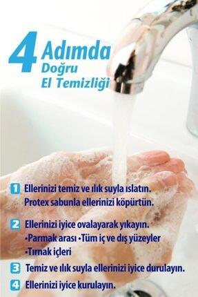 Protex Bitki Özlü Koruma Antibakteriyel Sıvı Sabun 300 Ml X 3 Adet 4