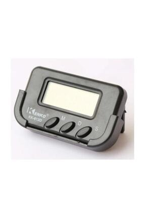Kenko Kk-613d Dijital Küçük Masa-araba Saati-alarm-kronometre 4