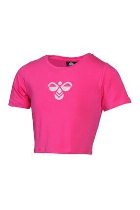 HUMMEL Kız Çocuk Pembe Monteresso Crop Tshirt 2