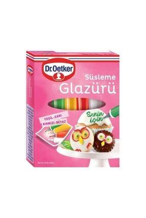 Dr. Oetker Süsleme Glazürü 4 Çeşit X 19 Gr. 0