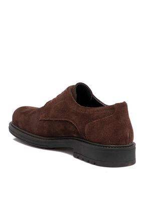 Tergan Kahverengi Süet Deri Erkek Ayakkabı 55015b85 1