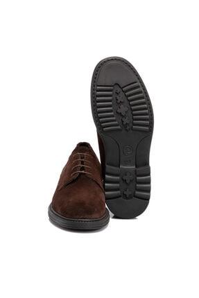 Tergan Kahverengi Süet Deri Erkek Ayakkabı 55015b85 3