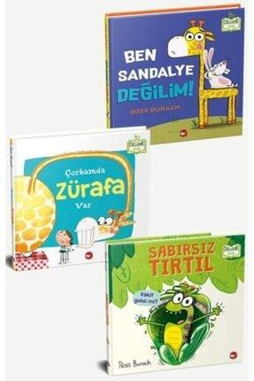 Beyaz Balina Yayınları Ross Burach Seti - 3 Kitap [organik Kitaplar] 0