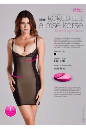 Elbise Korse 71558