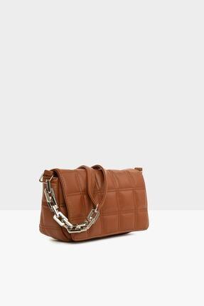 Lolinna Kadın Taba Nakışlı Kapaklı Mini Çanta Lln8787 1
