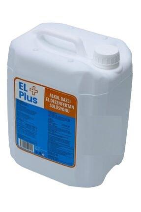 EL PLUS Carefect El+ Plus Antiseptik %82 Alkol Bazlı 5 Litre El Ve Cilt Dezenfektanı 5 Lt (EKŞİ KOKMAZ) 1