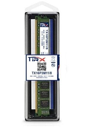 Tirx Tx16p3m11/8 8 Gb Ddr3 1600 Mhz Intel & Amd Işlemcilerde Çalışır 0