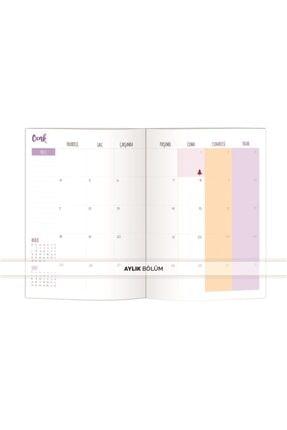 Le Color Botanıc 2021 Haftalık Ajanda Stıckerlı 15x21 4