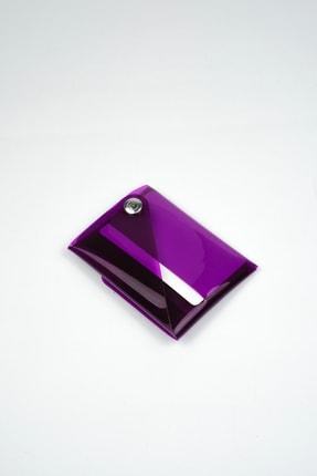 Badger Collection Katlanır Cüzdan - Unisex Kartlanır Mor 3