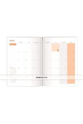 Le Color Pelıcan 2021 Haftalık Ajanda Stıckerlı 15x21 3