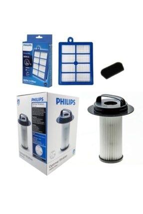 Philips Orjinal Fc 9205 Marathon Kutulu Hepa Filtre Seti 0