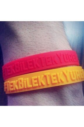 Galatasaray Lisanslı Galatasaray Unisex Omuz Omuza Bileklik Sarı + Kırmızı U651905 3