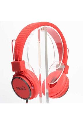 Zore Kırmızı Mp3 Kulaklık 3.5mm Y-6338 0