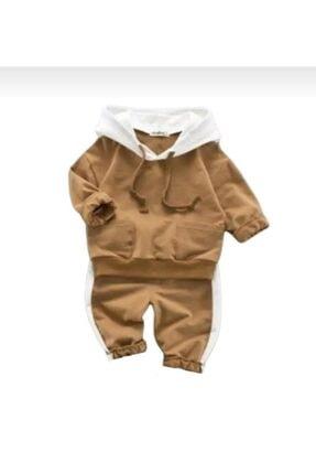 Beren Kids Kapşonlu Bebek Alt Üst Takım 1