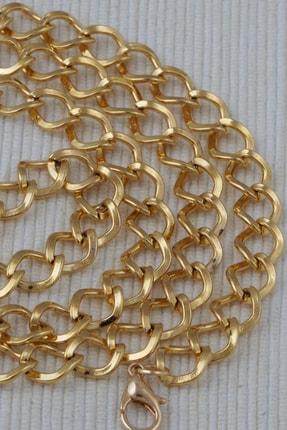Altın Kaplama Uzun Zincir Kolye KL0120