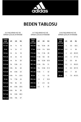 adidas TENSAUR Beyaz Kız Çocuk Sneaker Ayakkabı 100481660 3