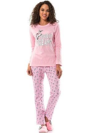Baskılı Pijama Takımı (8540) ERD-8540
