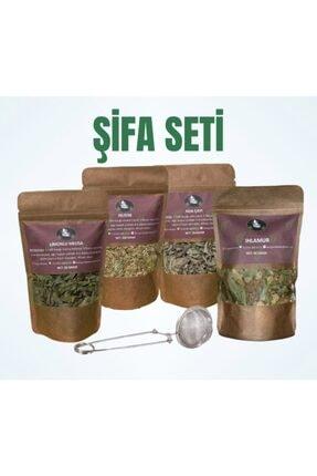 Bi Organik Kış Ayı Şifa Seti, Bitki Çayı, Süzgeç, Ihlamur, Rezene, Ada Çayı, Limon Melisa 1