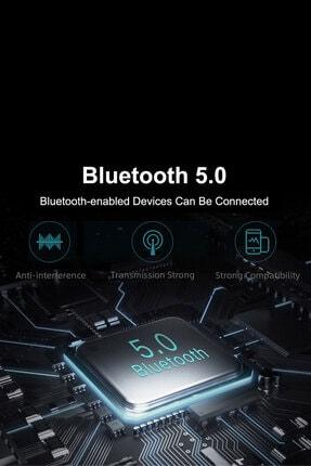 Escom Xiaomi Mi Note 10, 10 Pro Uyumlu Earbuds Siyah Kızaklı Bluetooth Kulaklık 4