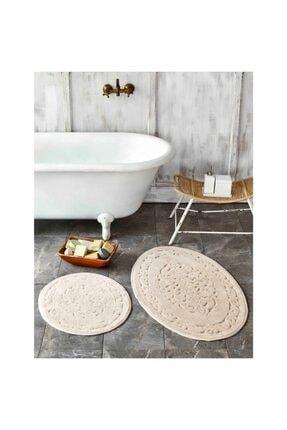 Karaca Home Obi Bej 2 Parça Banyo Paspası 0