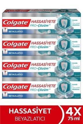 Colgate Hassasiyete Pro Çözüm Beyazlatıcı Pro Relief Diş Macunu 4x 75 ml 0
