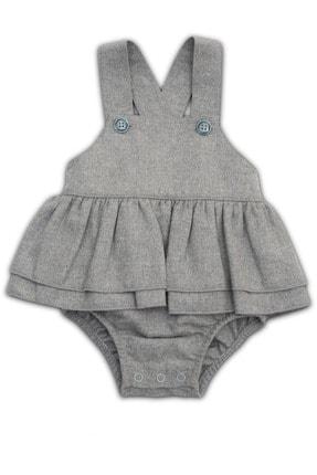 Kız Bebek Çıtçıtlı Salopet resmi