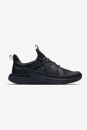 Lescon Erkek Siyah Hellium Spike Sneaker Spor Ayakkabı Rahat 2