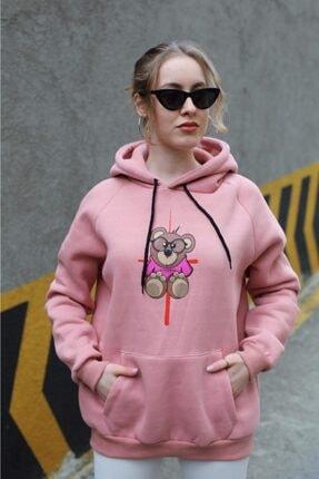 Sonsofsoo Kadın Şardonlu Sweatshirt 0