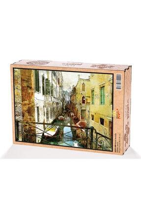 King Of Puzzle Kanal Venedik Ahşap Puzzle 2000 Parça 0