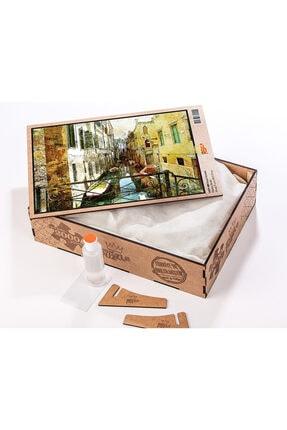 King Of Puzzle Kanal Venedik Ahşap Puzzle 2000 Parça 1