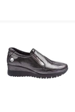 Kadın Siyah Simli Ayakkabı D19ka485 D19KA485 SIYAH SİMLİ MAMMAMİA