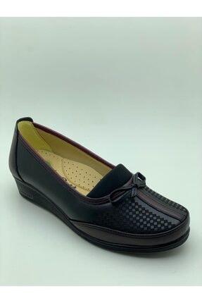 Kadın Siyah Ayakkabı ANNE AYAKKABISI