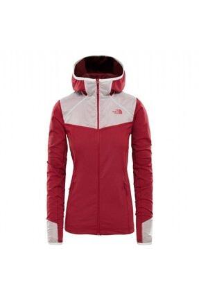 The North Face Inlux Tech Mid Kadın Kırmızı Ceket 0