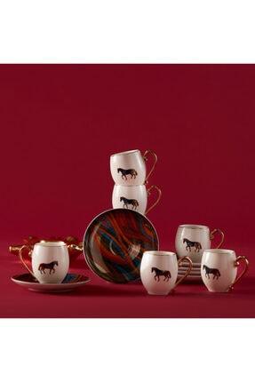 Karaca Cavallo 6 Kişilik Kahve Fincan Takımı 0
