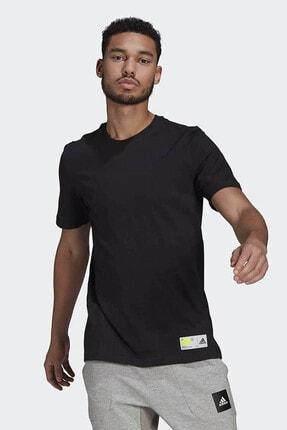 adidas Erkek Siyah Günlük T-shirt 0