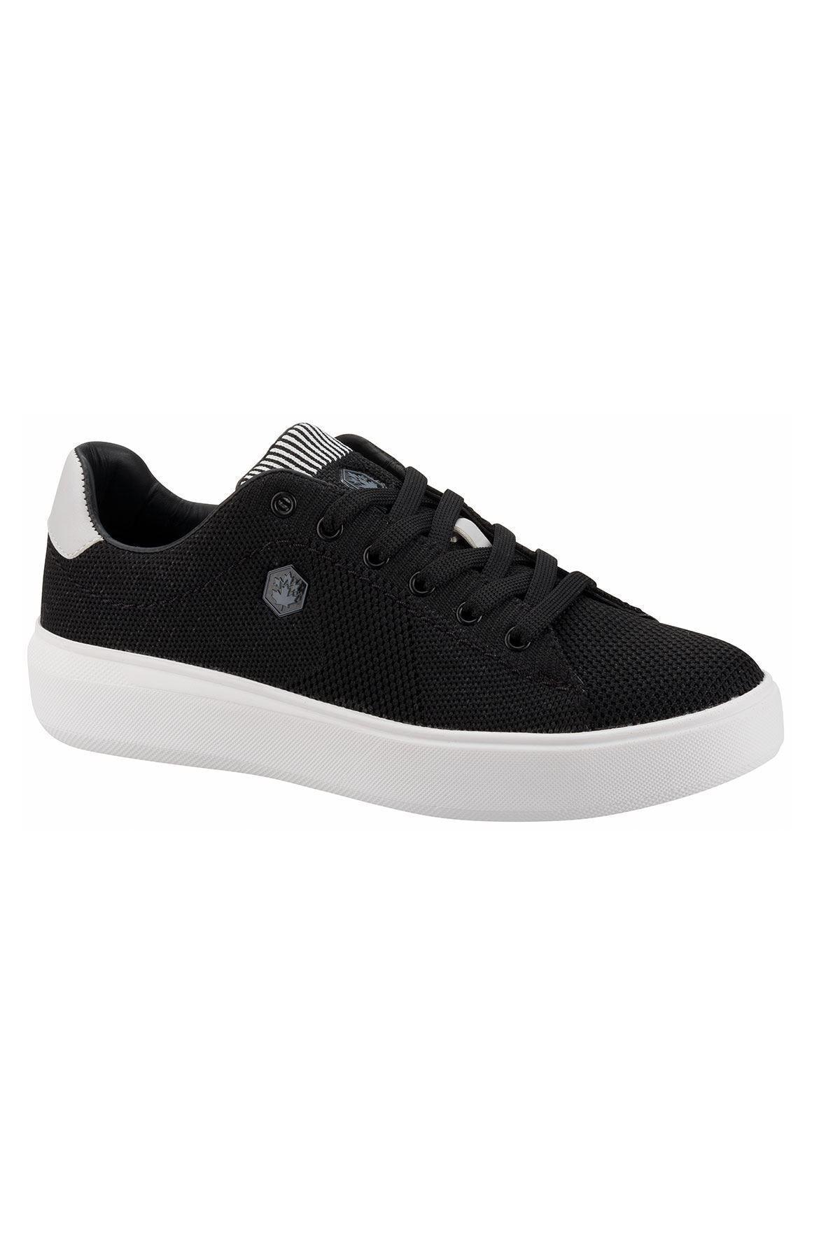 ODINA KNITTING 1FX Siyah Kadın Havuz Taban Sneaker 100911355