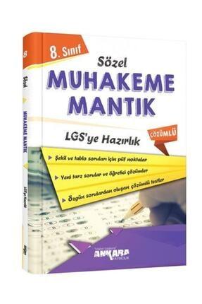 Ankara Yayıncılık 8. Sınıf Lgs Ye Hazırlık Sözel Muhakeme Mantık Soru Bankası 0