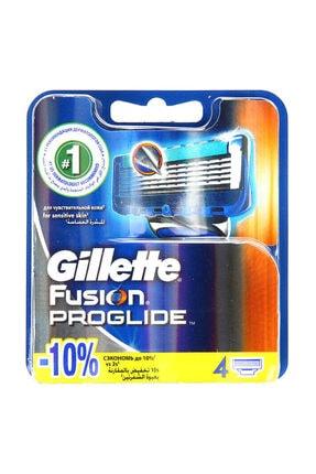 Gillette 4'lü Fusion Proglide Yedek Tıraş Bıçağı 1
