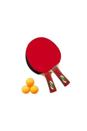 Delta Masa Tenisi Seti - 2 Masa Tenisi Raketi + 3 Pinpon Topu 0